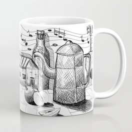 Letter in the bottle Coffee Mug