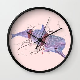 The Universe is a Dolphin Wall Clock