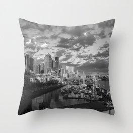 Seattle Sunbreak Throw Pillow