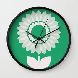 MCM Dahlia Wall Clock