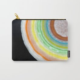 Colorful Abstract Slice of Giant Jawbreaker Candy Carry-All Pouch