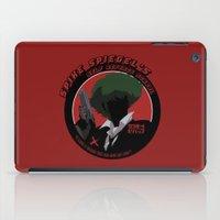 cowboy bebop iPad Cases featuring Bebop Spike by AngoldArts