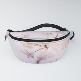 Soft winter flower fineart photography Fanny Pack