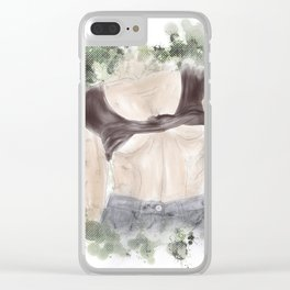Sneak Peak Clear iPhone Case