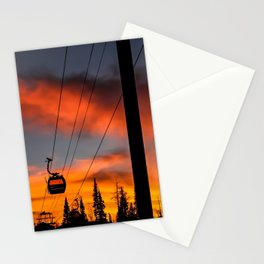 Paint the Sky Orange Stationery Cards