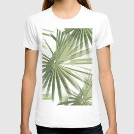 Tropical Beach Palm Vector T-shirt