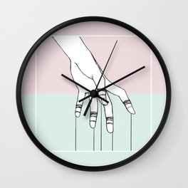 No Strings Wall Clock