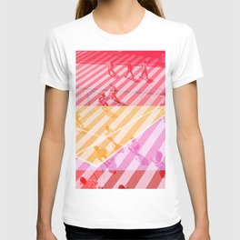 pedestrian pathway color T-shirt