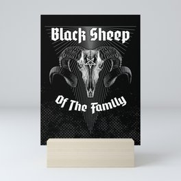 Black Sheep Of The Family Mini Art Print
