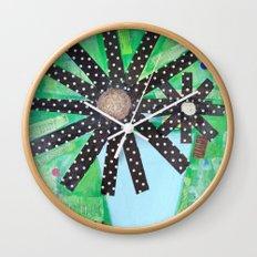A lotta polka dots! Wall Clock