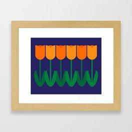 Tulip Time Framed Art Print
