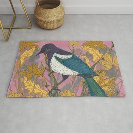 Magpie and Maple Rug