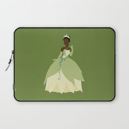 Tiana from Princess and the Frog Laptop Sleeve