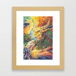 Mountain-ash Framed Art Print