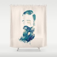 storm Shower Curtains featuring Storm by Seaside Spirit