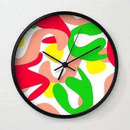 Colour Mash Light Wall Clock