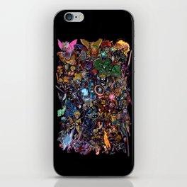 Lil' Marvels iPhone Skin
