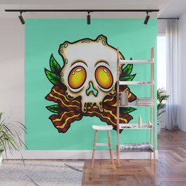 Breakfast Pirate Wall Mural