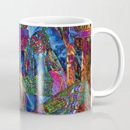 Psychedelic Buddha Coffee Mug