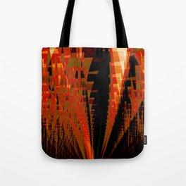 Citadel Abstract Fractal Art Tote Bag