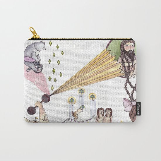 Carnival Art Carry-All Pouch