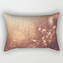 wake up in the garden Rectangular Pillow