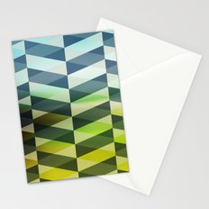 Herring Greens And Blues Stationery Cards