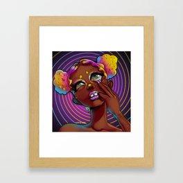 The Spiral Framed Art Print