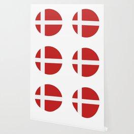 Denmark flag Wallpaper
