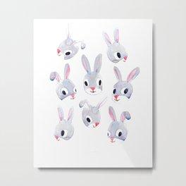 My Sis's Bunny2 Metal Print