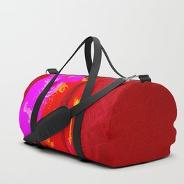 Quiverish Black Light Boho 6 Duffle Bag