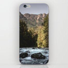 Mountain River Run iPhone Skin