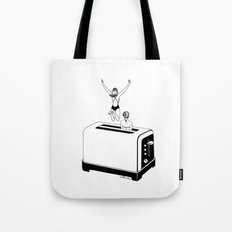 1 Minute Tan Tote Bag