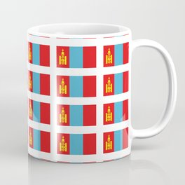 Flag of Mongolia - Monggol Ulus, Mongolian, Монгол Улс,Mongol,Ulaanbaatar Coffee Mug