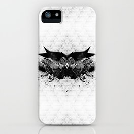 BLACK & WHITE | Zebras | Linco7n. | L7. iPhone Case