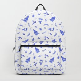 Watercolour Chinoiserie Backpack