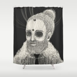 HOLLOWED MAN Shower Curtain
