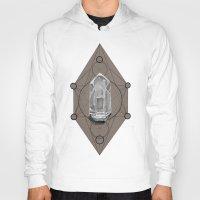 sacred geometry Hoodies featuring Sacred Geometry  by Coreypopp
