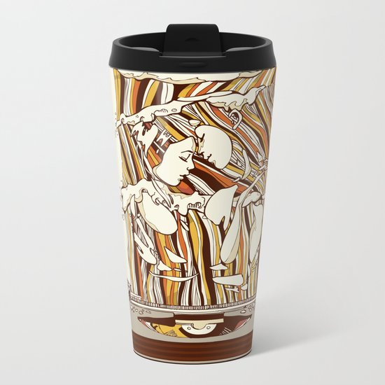 Endless Summer Metal Travel Mug