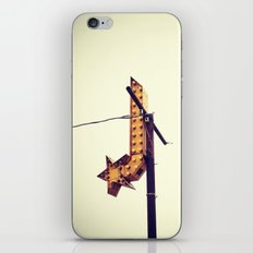 SHOOTING STAR iPhone & iPod Skin