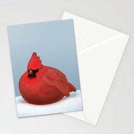 After Christmas cardinal bird Stationery Cards