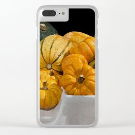 Thanksgiving Clear iPhone Case