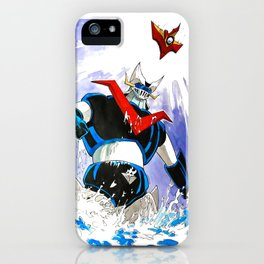 The Great Mazinger and Brian Condor iPhone Case