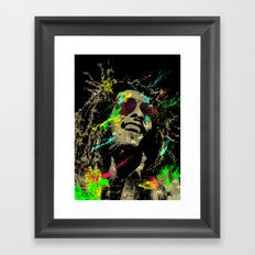 Under the reggae mode Framed Art Print