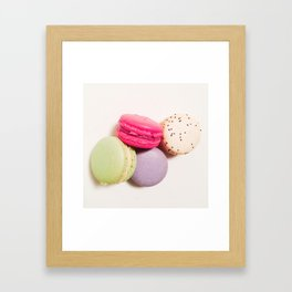 Macrons No.2 Framed Art Print