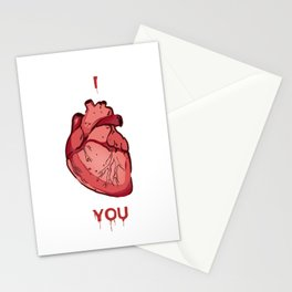 I Heart You Stationery Cards