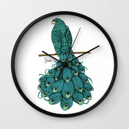 Special Chimera: The Peahawk Wall Clock