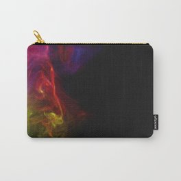 Colored Smoke Abstract Photo Sculpture #1 Carry-All Pouch
