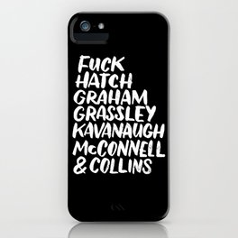 Fuck Republicans iPhone Case
