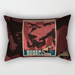 Boxer Rebellion  Rectangular Pillow